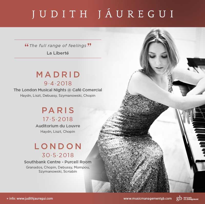 Judith Jáuregui  à l'Auditorium du Louvre