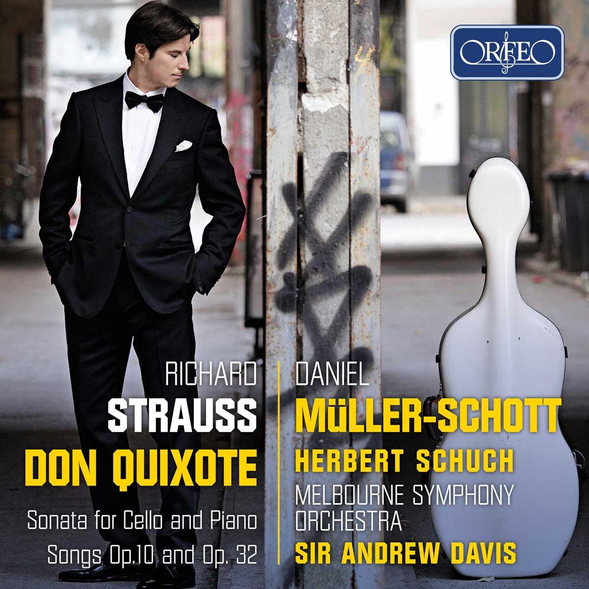 Nouveau CD de Daniel Müller-Schott chez Orfeo