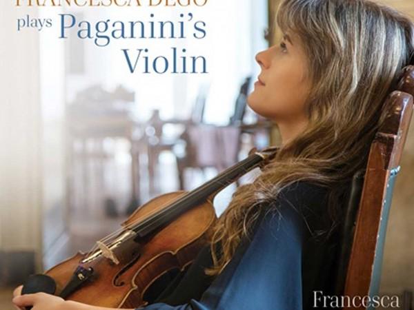 Francesca Dego : Parution chez Chandos d'un CD en hommage à Niccolo Paganini