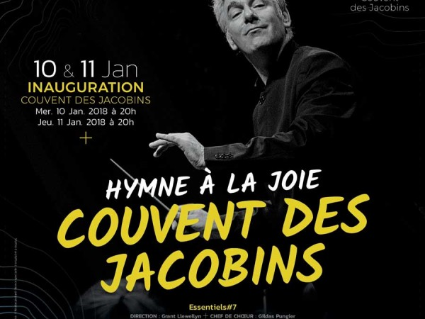Couvent des Jacobins à Rennes: Inauguration du Grand Auditorium