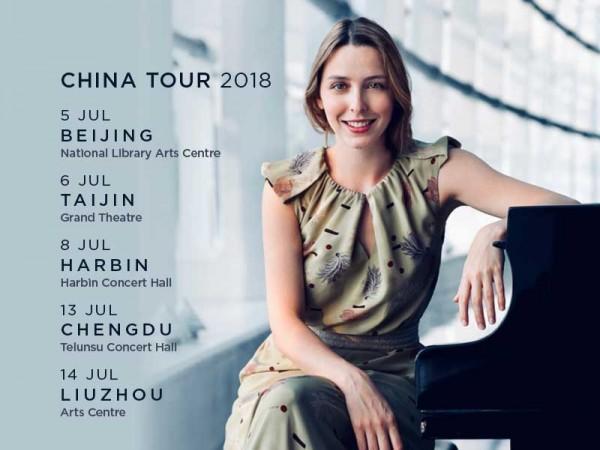 Judith Jáuregui : tournée en Chine